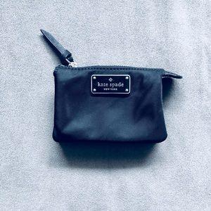 Kate Spade Black Mini Wallet Coin Purse